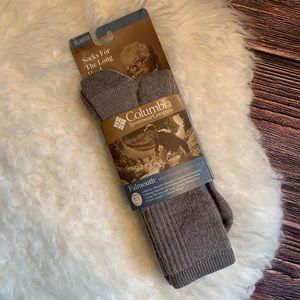 NWT Columbia Falmouth Wool Hiking Socks XL